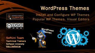 WordPress Themes - SoftUni