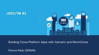 Xamarin + MvvmCross - Meetup